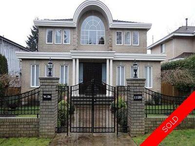 Vancouver West House for sale:  6 bedroom 5,057 sq.ft.