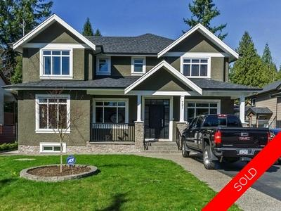 Coquitlam West House for sale: 721 Accacia Ave, 6 bedroom 4,790 sq.ft.